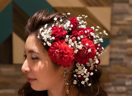 Hair corsage