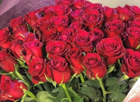 プロポーズ用 バラ花束